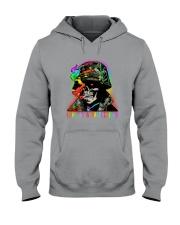 LGBT Skull Love Is A Battlefield Hooded Sweatshirt thumbnail