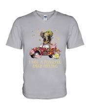 Bug Elephant Hippie - I Got A Peace V-Neck T-Shirt thumbnail