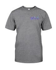 Barber American Flag 2 Sides Classic T-Shirt tile