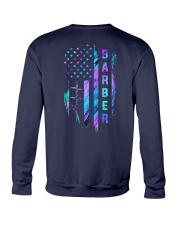 Barber American Flag 2 Sides Crewneck Sweatshirt tile