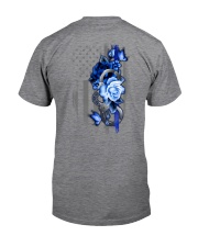Police Rose v2 2 Sides Classic T-Shirt tile