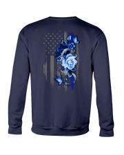 Police Rose v2 2 Sides Crewneck Sweatshirt tile