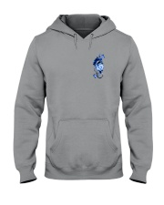 Police Rose v2 2 Sides Hooded Sweatshirt thumbnail