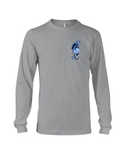 Police Rose v2 2 Sides Long Sleeve Tee thumbnail