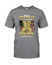 Veteran Dad Honor 1 Classic T-Shirt tile