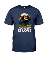Sk Lgbt - All I Need Is Love Classic T-Shirt tile
