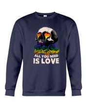 Sk Lgbt - All I Need Is Love Crewneck Sweatshirt tile