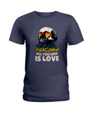 Sk Lgbt - All I Need Is Love Ladies T-Shirt tile
