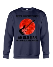 Never Underestimate An Old Man With A Guitar Crewneck Sweatshirt tile