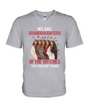 Native-Native Granddaughters V-Neck T-Shirt thumbnail
