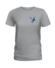 Suicide Prevention Be Strong 2 Sides Ladies T-Shirt thumbnail