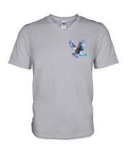 Suicide Prevention Be Strong 2 Sides V-Neck T-Shirt thumbnail