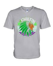 Native - Chiefin V-Neck T-Shirt thumbnail