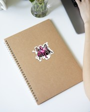 Breast Cancer Horse Crack St Sticker - Single (Vertical) aos-sticker-single-vertical-lifestyle-front-28