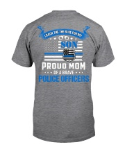 Police - Back The Blue For My Son 2 Sides Classic T-Shirt tile