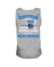 Police - Back The Blue For My Son 2 Sides Unisex Tank tile
