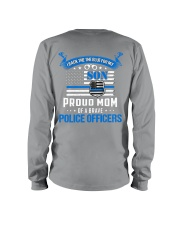 Police - Back The Blue For My Son 2 Sides Long Sleeve Tee tile