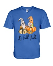 Coffee - Its Fall Yall V-Neck T-Shirt tile