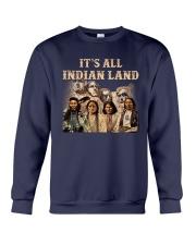 Native- It Is All Indian Land Crewneck Sweatshirt thumbnail