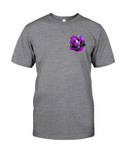 Butterfly Rose 2 Sides Classic T-Shirt tile