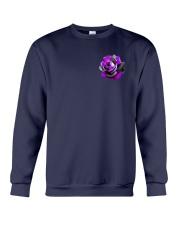 Butterfly Rose 2 Sides Crewneck Sweatshirt tile