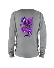 Butterfly Rose 2 Sides Long Sleeve Tee tile