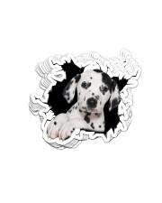 Dalmatian Crack Sticker - 10 pack (Vertical) front