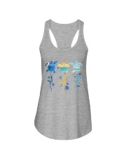 Turtle - Live Love Laugh Ladies Flowy Tank thumbnail