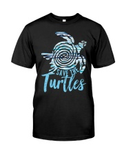 Save The Turtles Classic T-Shirt front