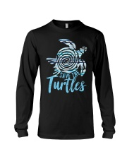 Save The Turtles Long Sleeve Tee thumbnail