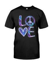 Hippie-Love Hippie Hologram Classic T-Shirt front