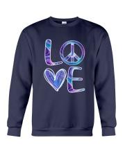 Hippie-Love Hippie Hologram Crewneck Sweatshirt thumbnail