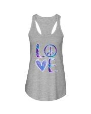 Hippie-Love Hippie Hologram Ladies Flowy Tank thumbnail