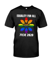LGBT Equality for All Pride 2020 Classic T-Shirt front