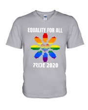 LGBT Equality for All Pride 2020 V-Neck T-Shirt thumbnail