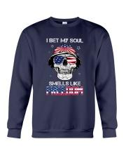 Sk - I Bet My Soul Smell Like Freedom Crewneck Sweatshirt tile