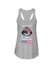 Sk - I Bet My Soul Smell Like Freedom Ladies Flowy Tank tile