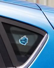 Turtle Blue Heart St Sticker - Single (Vertical) aos-sticker-single-vertical-lifestyle-front-33