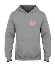Breast Cancer Daisy 2 Sides Hooded Sweatshirt thumbnail