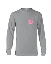 Breast Cancer Daisy 2 Sides Long Sleeve Tee tile