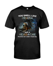 Skull - You Smell Like Drama Classic T-Shirt front