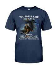 Skull - You Smell Like Drama Classic T-Shirt tile