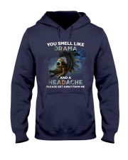 Skull - You Smell Like Drama Hooded Sweatshirt thumbnail