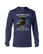 Skull - You Smell Like Drama Long Sleeve Tee thumbnail