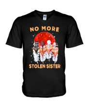 Native - No More Stolen Sister V-Neck T-Shirt tile