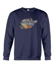 The Pride Of A Baseball Dad Crewneck Sweatshirt thumbnail
