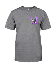 Fibromyalgia Be Stronger 2 Sides Classic T-Shirt tile