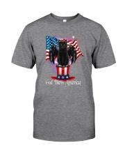 Cat - God Bless America Classic T-Shirt tile