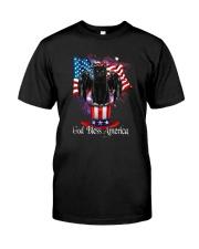 Cat - God Bless America Classic T-Shirt front
