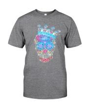 Colorful Skull Classic T-Shirt tile